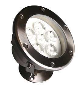 BULLEYE, LED-Leuchte Unterwasser mit Sicherheitsglas