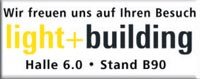 Light&Building, Messe Frankfurt vom 06.04-11.04.2008, Halle 6.0, Stand B90