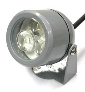 TREVISI, Aufbaustrahler mit 3x 1W Hochleistungs LED