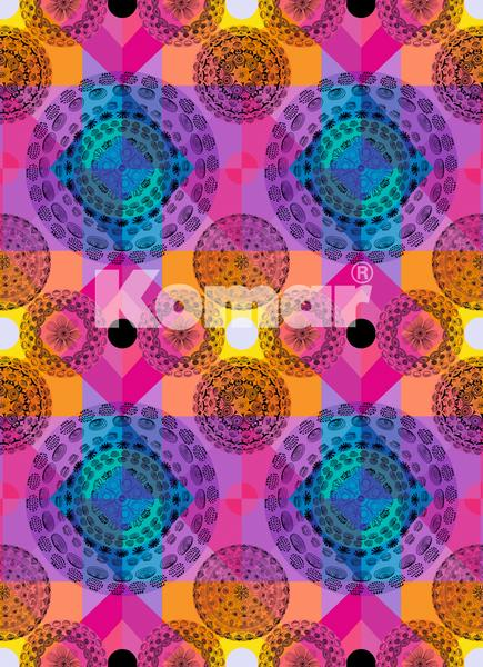 Kaleidoskop, bunte Grafik, endlos klebbar - bei Klick zurück zur Motivübersicht
