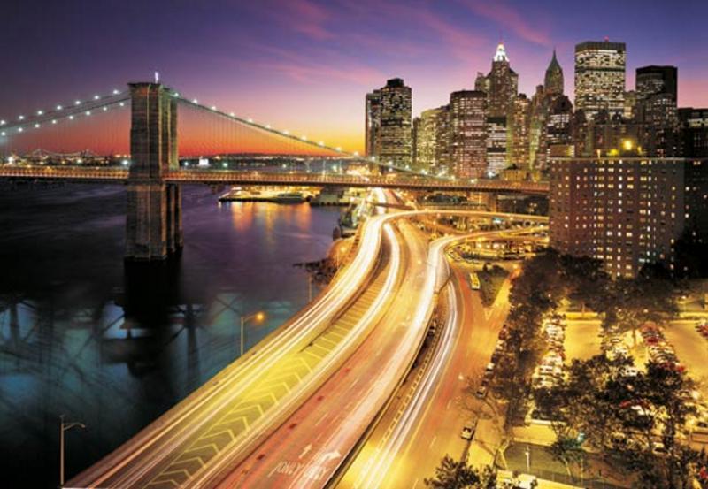 NYC LIGHTS, Lichter des Big Apple - bei Klick zurück zur Motivübersicht