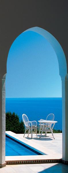 Capri, blaues Meer - bei Klick zurück zur Motivübersicht