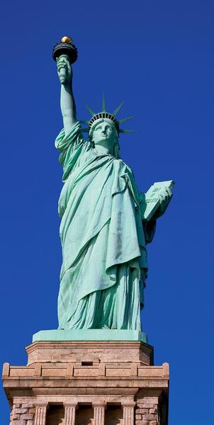 Freiheitsstatue, ein Stück New York - bei Klick zurück zur Motivübersicht