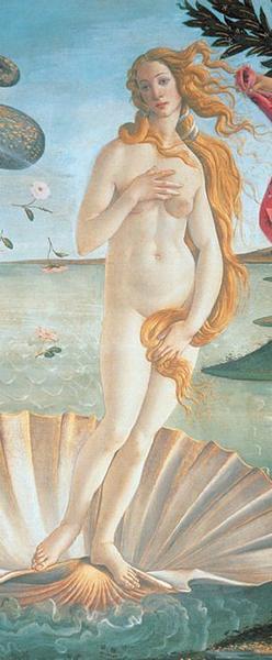 Venus, Die Geburt - bei Klick zurück zur Motivübersicht