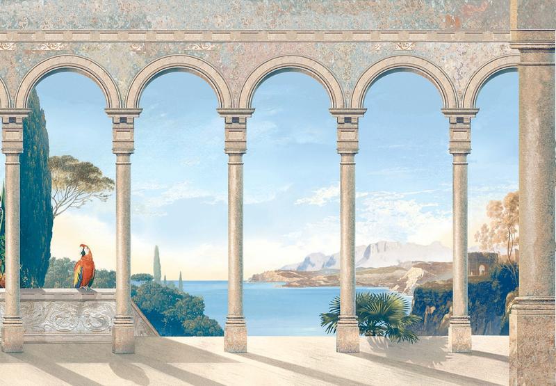 Cote d Azur B, handgemalt - bei Klick zurück zur Motivübersicht