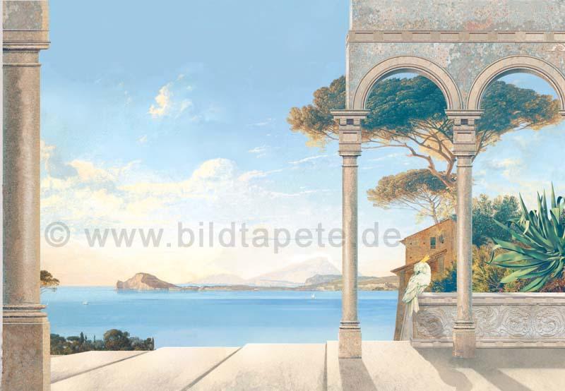 Cote d Azur A, handgemalt - bei Klick zurück zur Motivübersicht