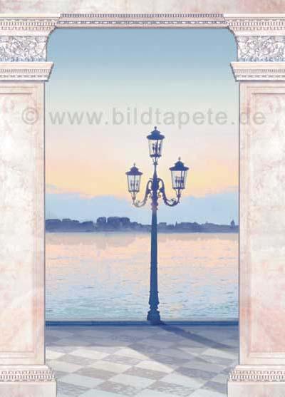 Venedig A, handgemalt - bei Klick zurück zur Motivübersicht