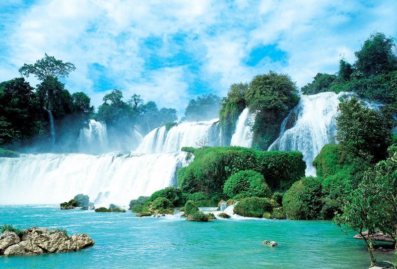 Fototapete tropischer regenwald  Fototapeten Wasserfall ab EUR 15,- - Naturerlebnis, KiSS! GmbH ...