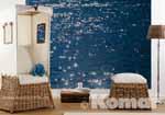Ambientebild der Fototapete STELLE DI MARE im Wohnbereich - bei Klick vergrößerte Darstellung