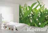LILIES OF THE VALLEY, Maiglöckchen im Schlafbereich - bei Klick vergrößerte Darstellung