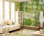 SUNDAY, sonniger Birkenwald im Wohnbereich - bei Klick vergrößerte Darstellung