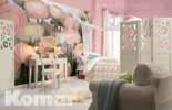 Ranunkeln im Schlafzimmer - bei Klick vergrößerte Darstellung