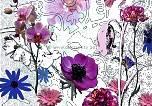 Bildtapete violet Flowers - bei Klick Artikelbeschreibung