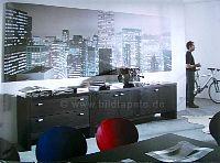 City im Büro - bei Klick vergrößerte Darstellung