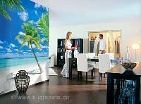 Karibik im Wohnbereich - bei Klick vergrößerte Darstellung