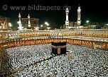 Fototapete und Poster um die abendliche Kaaba - bei Klick Artikelbeschreibung