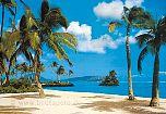 Fototapete Insel im Sonnenschein - bei Klick Artikelbeschreibung