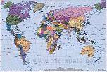 Bildtapete Weltkarte - bei Klick Artikelbeschreibung