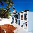 ESCAPE - Seychellenstrand Anse Soleil im Wohnbereich - bei Klick vergrößerte Darstellung