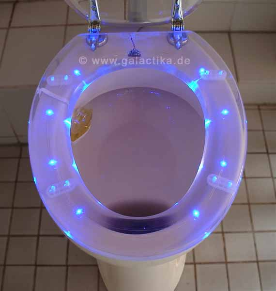 Famous LED Toilet Seat Galactika LED Lights For The Bathroom Now