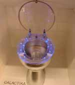 Presentation of the LED Light Toilet Seat on the Frankfurt Fair.