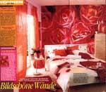 Photomural in Magazine LISA WOHNEN + DEKORIEREN