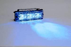 WIDGET, 3 blaue Luxeon LEDs