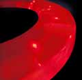 GALACTIKA toilet-seat in scarlet-red